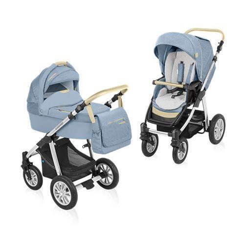 Baby Design Dotty Denim 2:1 multifunkciós babakocsi 03 Blue 2015