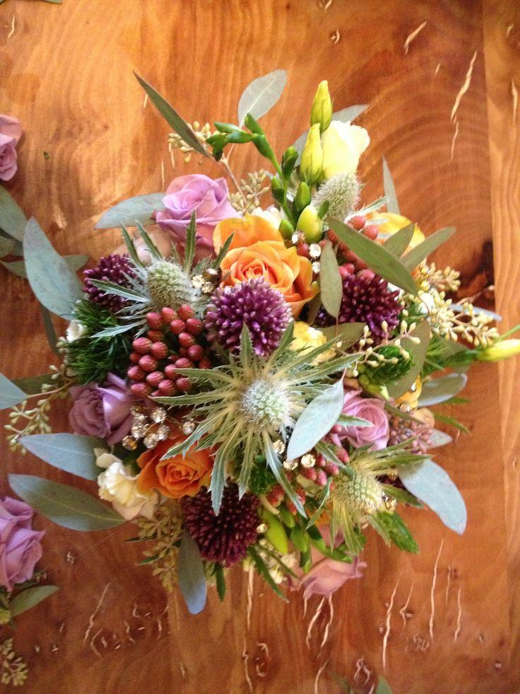 My beautiful friends wedding bouquet.