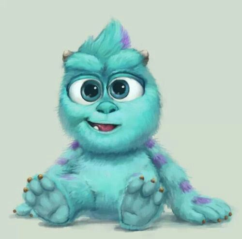 Baby Sully from Monsters Inc. | kids stuff | Pinterest | Monsters inc ...