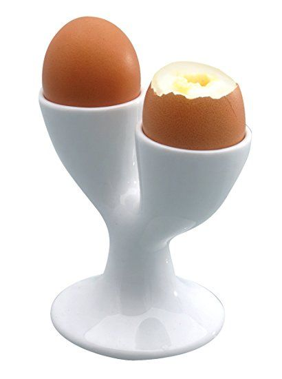 Kitchencraft White Porcelain Double Egg Cup Review Egg Poachers