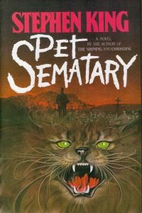 """Pet Sematary is by far one of King's most disturbing novels, forcing readers to think about the unthinkable- the death of a small child. Many readers were appalled with this book and even King himself claimed that this was one story he'd rather soon forget, but I admire his insight into this taboo topic and how he turned what could have been a typical """"zombie"""" tale into a thought provoking piece of horror. Just one more novel that proves King is the master of horror!"""