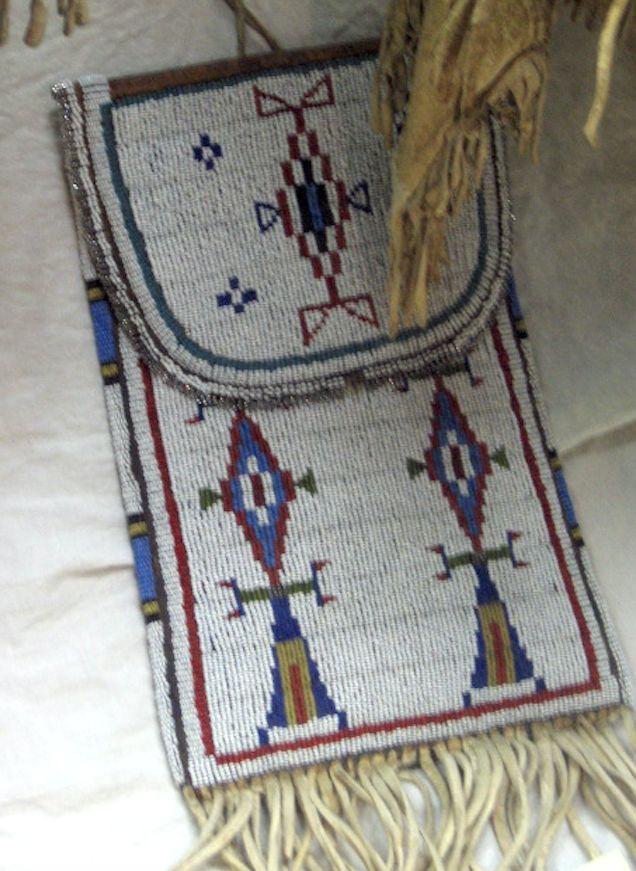 Cheyenne bag. St. Labre Mus. Ashland MT ac