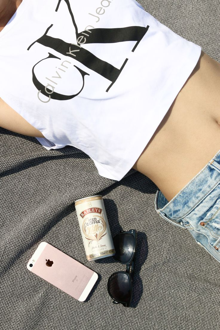 """Summertime & """"Baileys Iced Latte"""" Shorts and Crop Top Gardasee"""