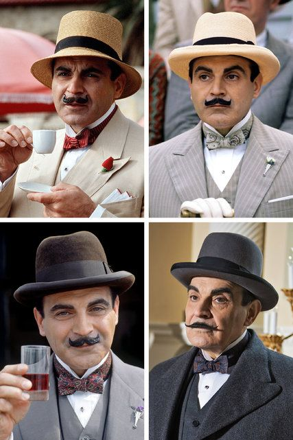 David Suchet Reflects on 25 Years as Poirot . He is the definitive Poirot. He fit my vision of Poirot from reading all Agatha Christie's mysteries and I have loved his portrayal from the first episode.