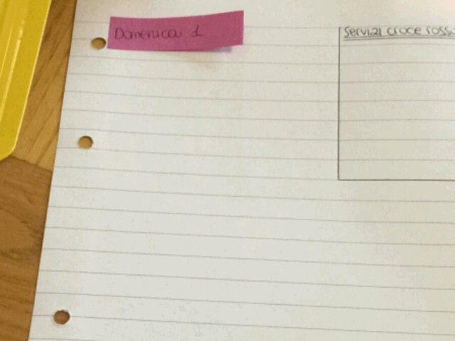 Idea facile, veloce, economica e colorata x un'agenda fai da te ideata da mia nipote