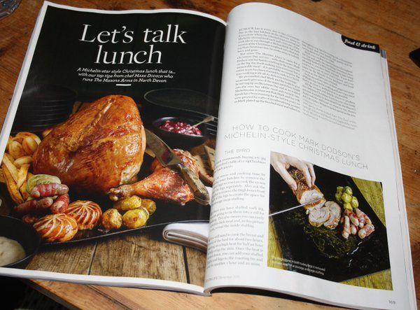 Recent Christmas festive shoot + styling at The Mason's Arms w chef Mark Dodson. Photography/styling by Guy Harrop