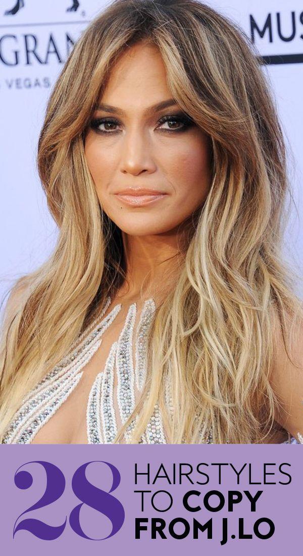 Jennifer Lopez S Most Glamorous Hairstyles Jlo Hair Jennifer Lopez Hair Hair Styles