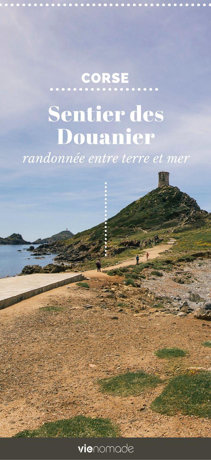 Randonnée en Corse: découvrez le magnifique sentier des Douaniers, qui longe les Îles Sanguinaires #corse #corsica #voyage #randonnée #marche #france