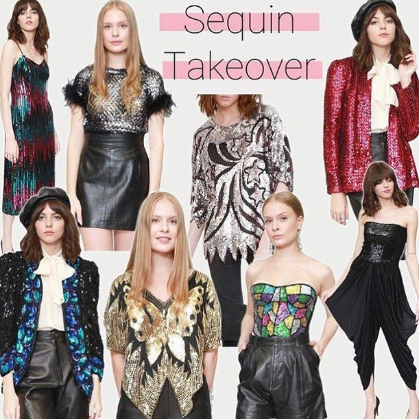 We are sequin crazy right now.. every type of sequin in our concession in @topshop Oxford Circus and online @asosmarketplace #peekaboo #peekaboovintage #sequin #takeover #70s #80s #party#glam #