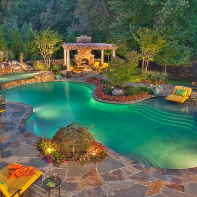 amazing: Dreams Houses, Swim Pools, Dreams Backyard, Outdoor, Beautiful, Dreams Pools, Backyard Pools, Pools Ideas, Pools Design