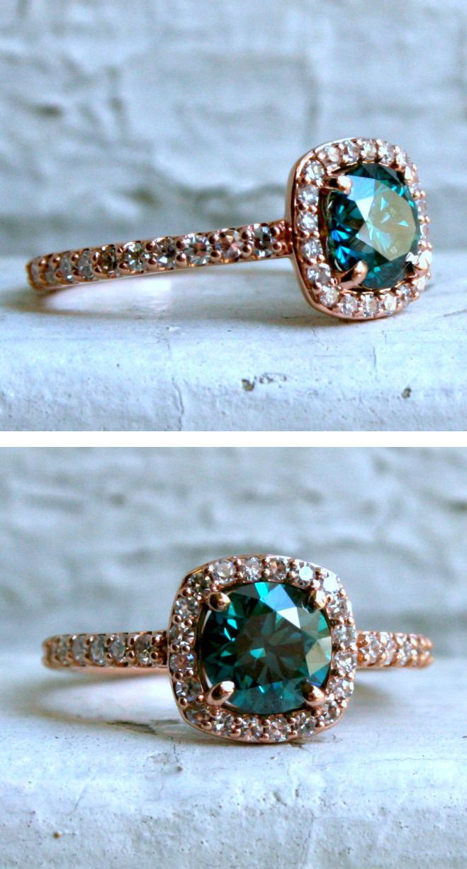 35 Stunning Engagement Rings for the Non-Traditional Bride http://rubies.work/0284-sapphire-ring/ Beautiful stone
