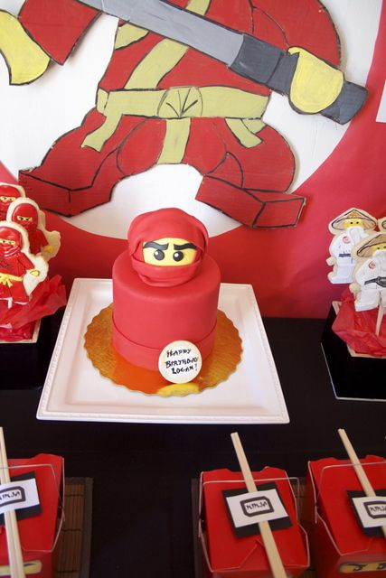 1000 Images About Ninjago Party Ideas On Pinterest