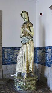 Jorge Barradas | Escultura em cerâmica / Ceramic sculpture | 1959 | Museu de Lisboa / Lisbon Museum #Azulejo #JorgeBarradas