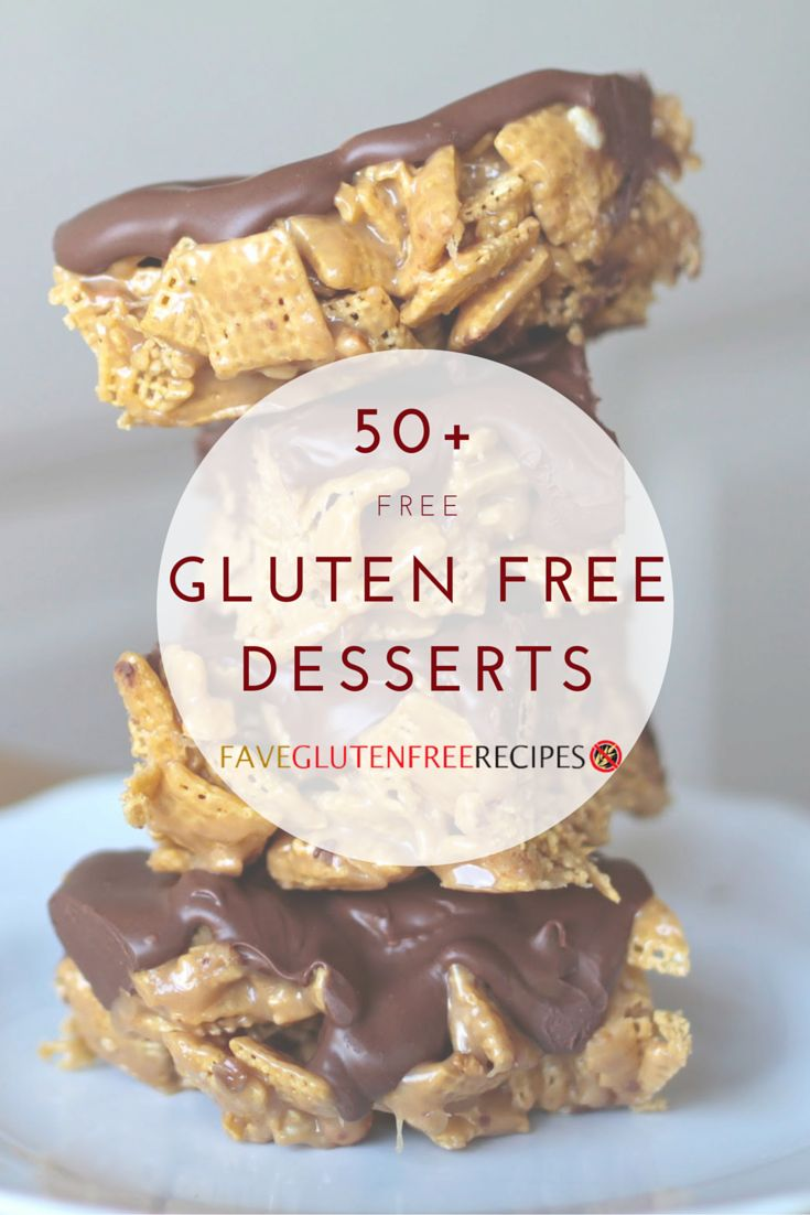 On the hunt for easy gluten free desserts? Take a look at these gluten free recipes! From easy cake recipes to cookie recipes, dessert bars to pies, you'll find all of the best gluten free dessert recipes here!