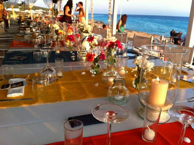 Beach wedding decoration ideas, Formentera weddings