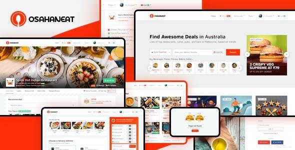 Osahan Eat – Online Food Ordering Website HTML Template