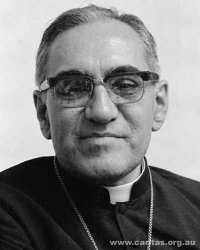 Oscar Romero was the archbishop of San Salvador, assassinated while saying Mass in 1980 by death squads angered by his public voice against poverty, social injustice, political killings, and torture in El Salvador at the time.