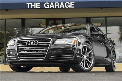 The #Audi A8 L W12 features the powerful, 500 hp 6.3-liter W12 engine with a limo sized back seat for Mom and your baby. A comfortable, stylish and powerful ride.