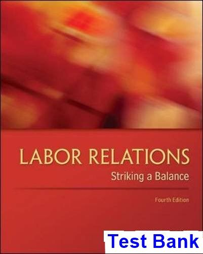 24 best test bank download images on pinterest labor relations striking a balance 4th edition budd test bank test bank solutions manual fandeluxe Choice Image