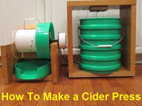 Make your own Apple Masher and Cider Press for under $75!
