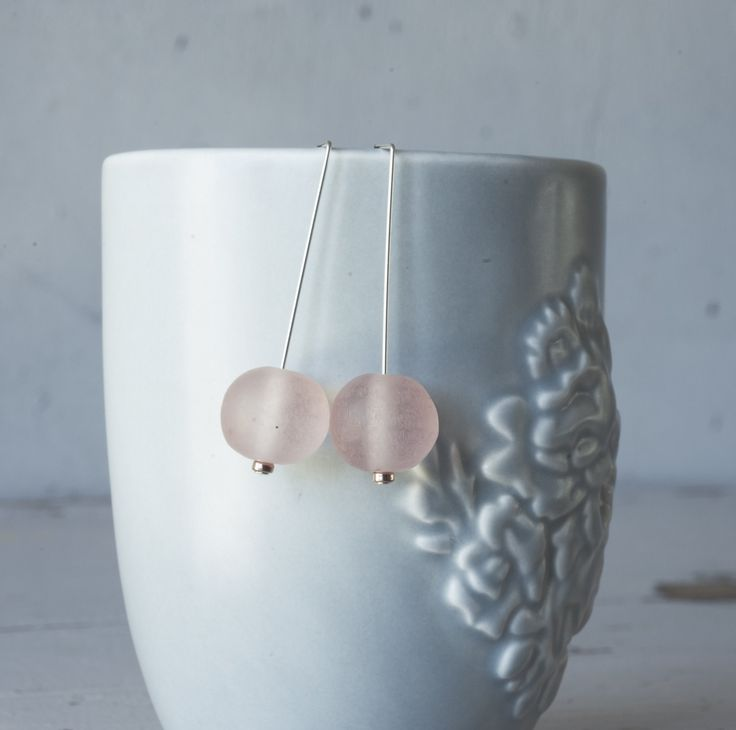 Twigg Hand made Resin Ball Earrings