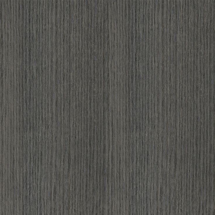 polytec Char Oak is an all over dark grey coloured oak wood grain with wide planking in straight grain with deep sand coloured undertones and silvery highlights.