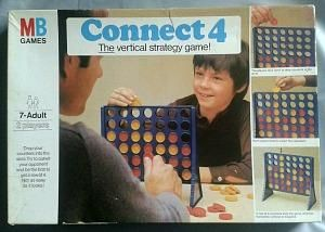 1976 Connect 4 Game by MB Games