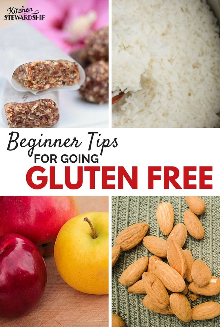 Simple tips for beginning to eat gluten-free. Make it easy on yourself so you don't get overwhelmed with unfamiliar ingredients.