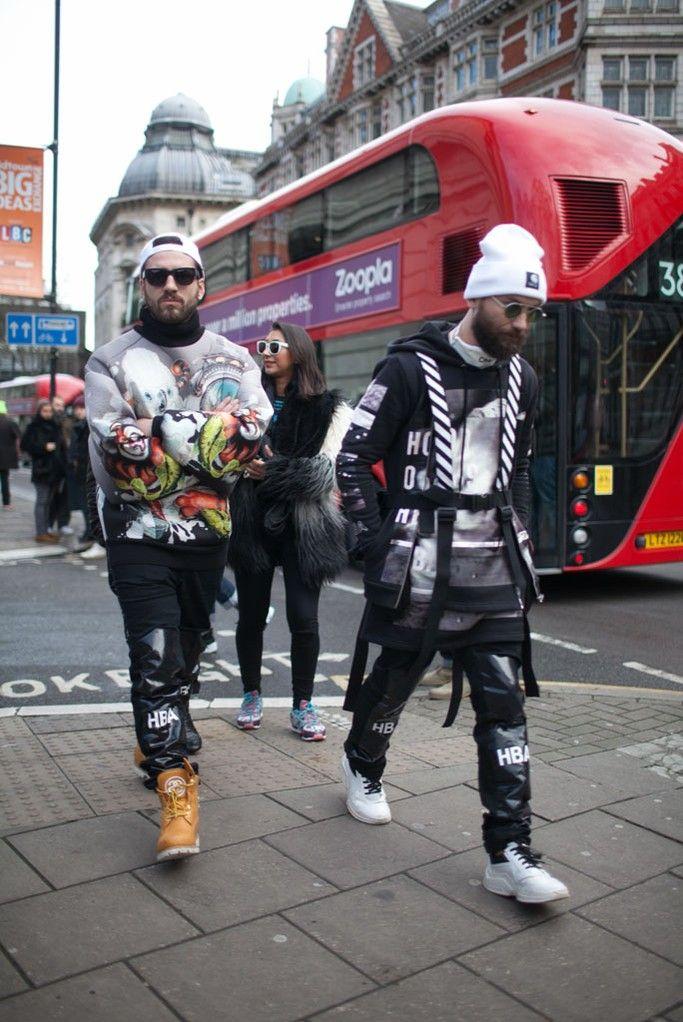 2015-16年秋冬ロンドン・メンズ・コレクションが1月9日、スタートした。世界中から集まった来場者をロンドンのコレクション会場でキャッチした。