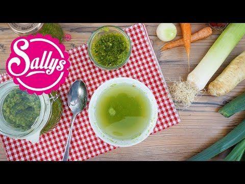 Gemüsebrühe selber machen / Instant Gemüsebrühe - YouTube