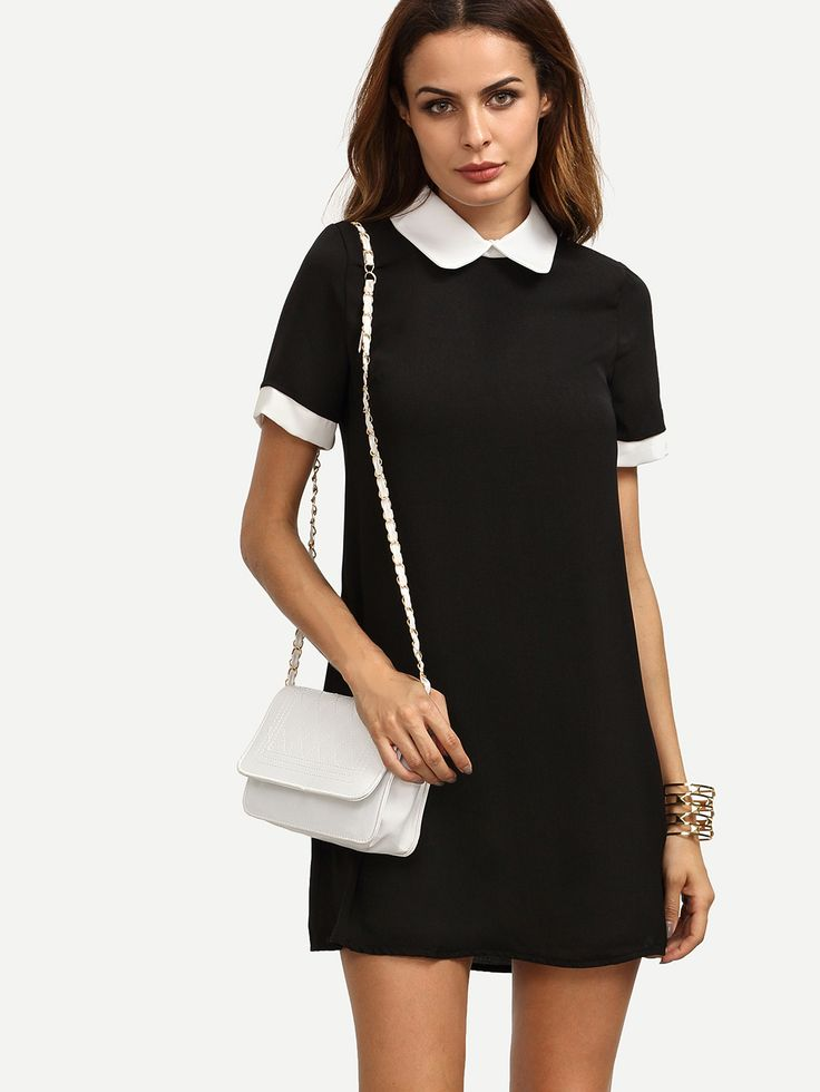 сам актер картинка черное платье с белым воротником таком случае