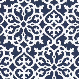 Derbyshire Damask Wallpaper in Navy: Derbyshir Damasks, Catalog, Allison Wallpapers, Graphics, Geometric Resources, Products, Damasks Wallpapers, Resources Collection, Powder Rooms