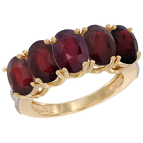 14K White GOld Diamond Color Gemstone RIngs - Ruby Rings Wholesale - Afford Price: Contact Us @ (213) 689-1488