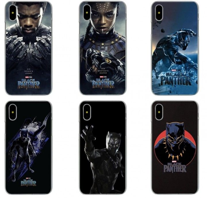 coque iphone 8 black panther