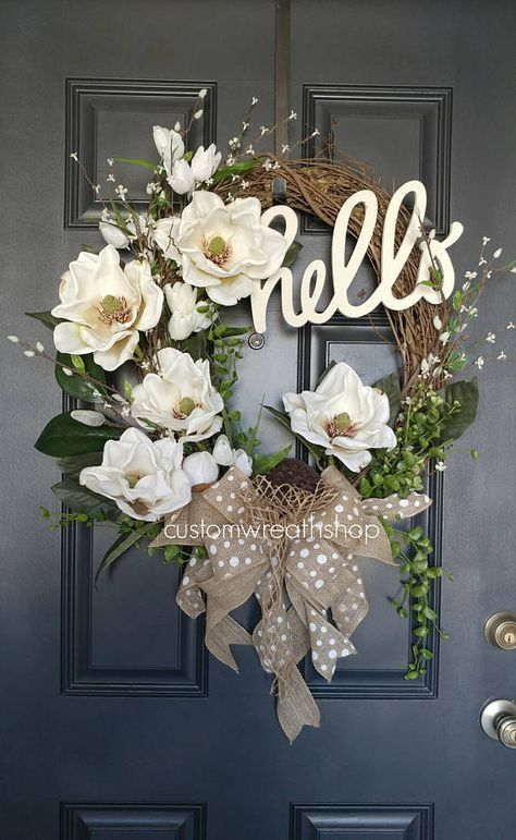 Best Selling Wreath Grapevine Wreath Spring Wreath Front Door Wreath