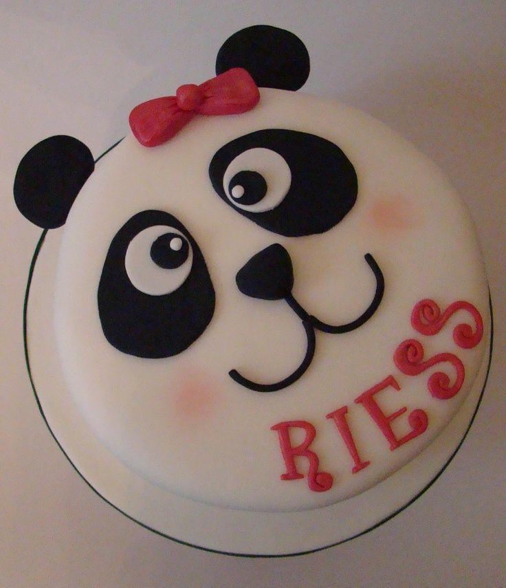 Panda Cake  Henry cakepins.com