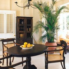 West Indies/British Colonial/Anglo Indian Decor & Style  I'll be doing my take on the dining table and chairs...