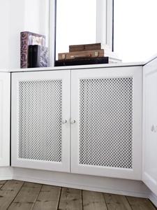 ingenious built in radiator cover