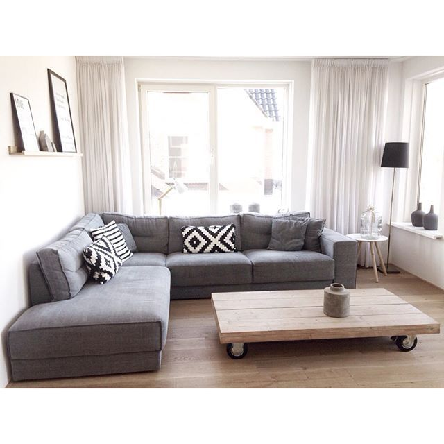 220 best ikea furniture images on pinterest kitchen for Ikea gray sofa