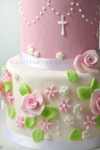 My Communion Cake  www.frombatoparis.com