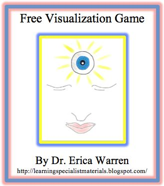 Free Visualization Game: For Improved Reading, Writing, and Memory
