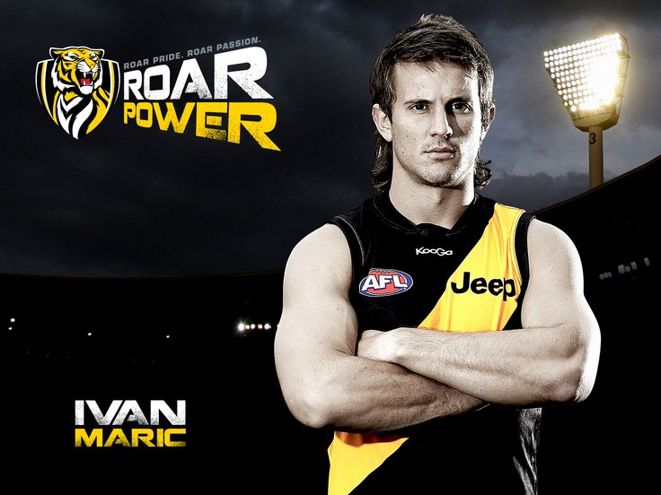 Tamed Mullet- Ivan- Wallpapers - Official AFL Website of the Richmond Football Club