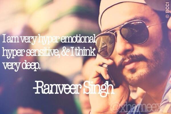 @xhameex: awwwww.  @RanveerOfficial 's quote!