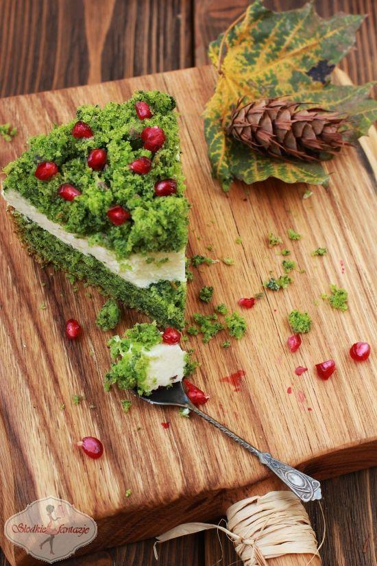 zielone ciasto