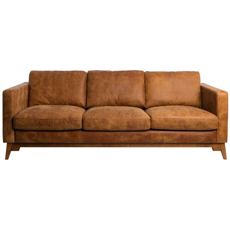 Las 25 mejores ideas sobre sof s de cuero de color caf - Mejores sofas de piel ...