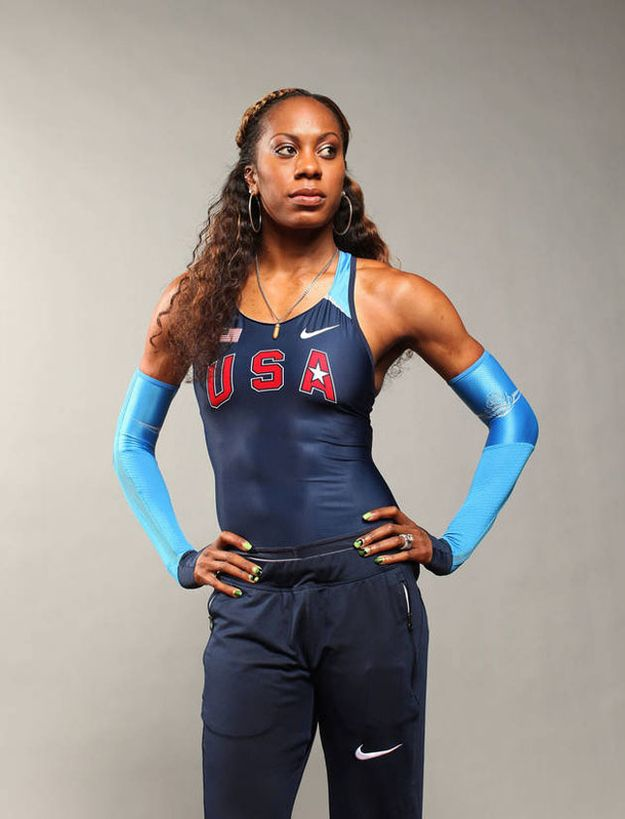 Sanya Richards-Ross -Glamour Shot: The Sexiest Female Athletes Of 2012