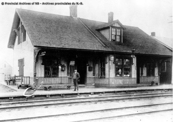 Sussex Train station a loooooong time ago!
