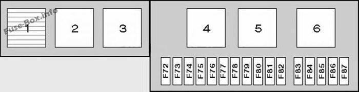 Trunk Fuse Box Diagram Bmw X5 2000 2001 2002 2003 2004 2005 2006 Bmw X5 E53 Bmw X5 Fuse Box