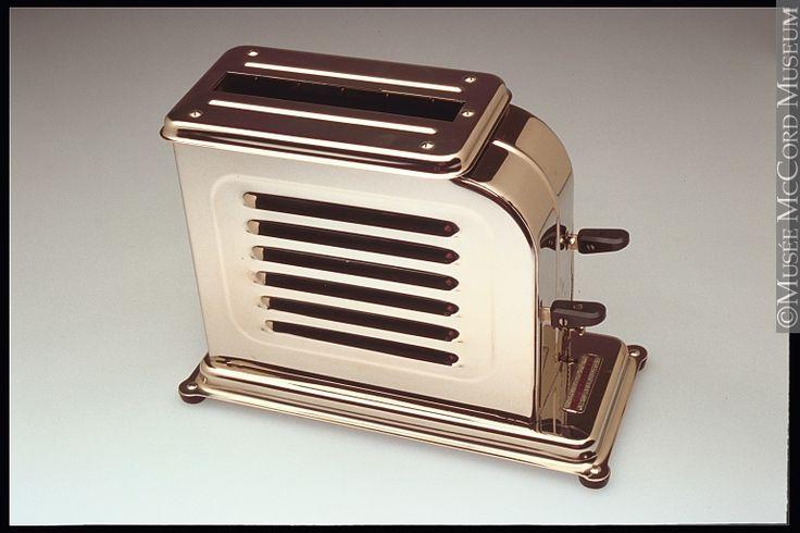 Art Deco toaster, McCord Museum