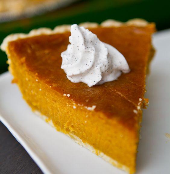 4 ingredient vegan pumpkin pie with coconut whip!